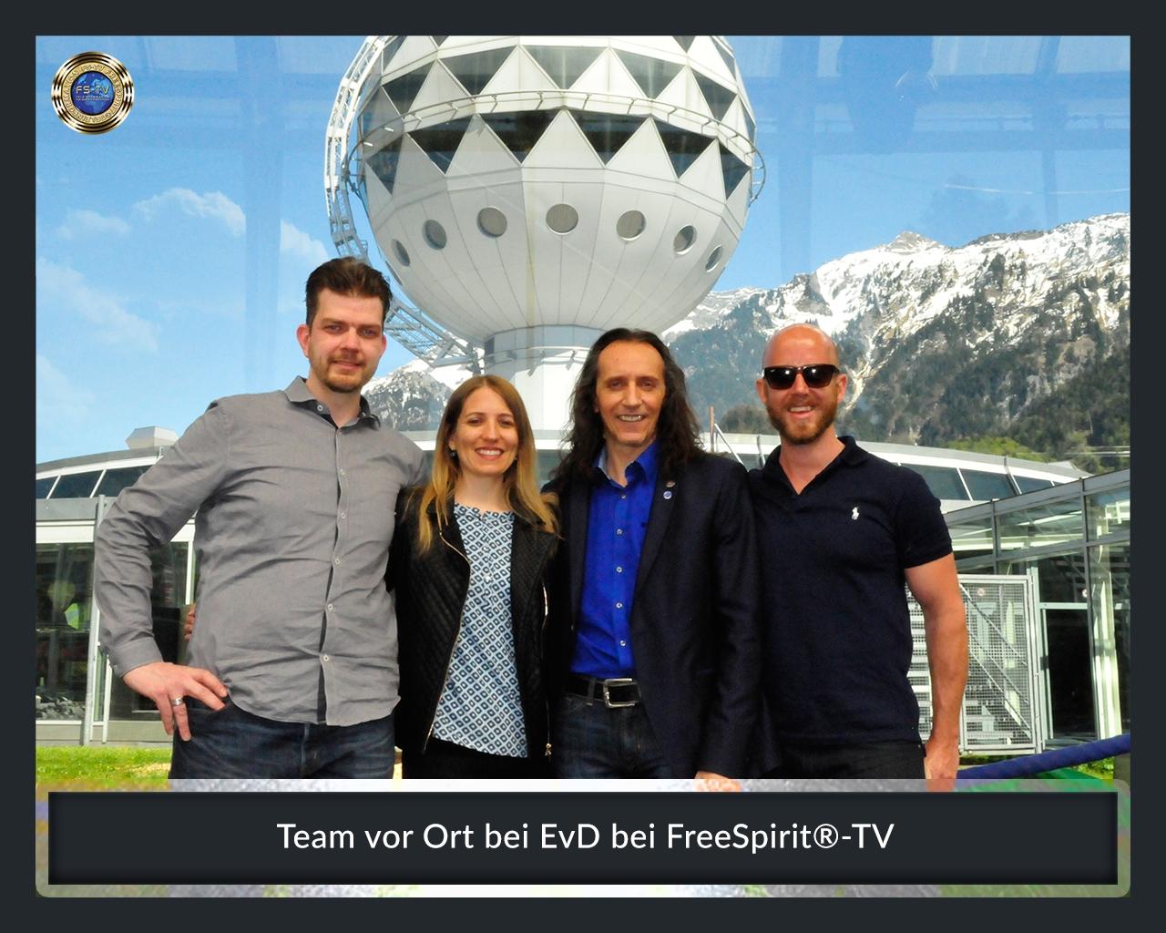 FS-TV-Bildergallerie-Team vor Ort