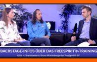 Backstage-Infos über das FreeSpirit®-Training – Bruno und Aline