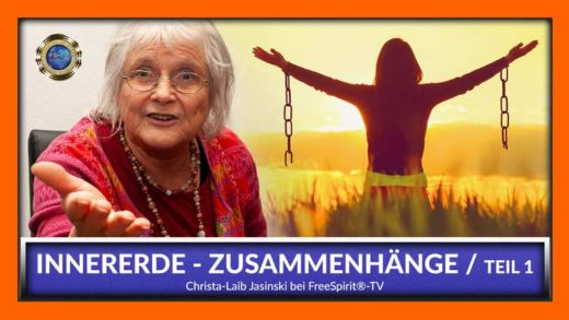 Christa Laib-Jasinski - FreeSpirit TV - Zusammenhänge Innererde