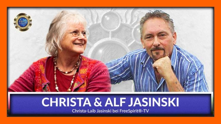 Christa & Alf Jasinski bei FreeSpirit®-TV