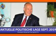 Aktuelle Politische Lage September 2019 – Christoph Hörstel
