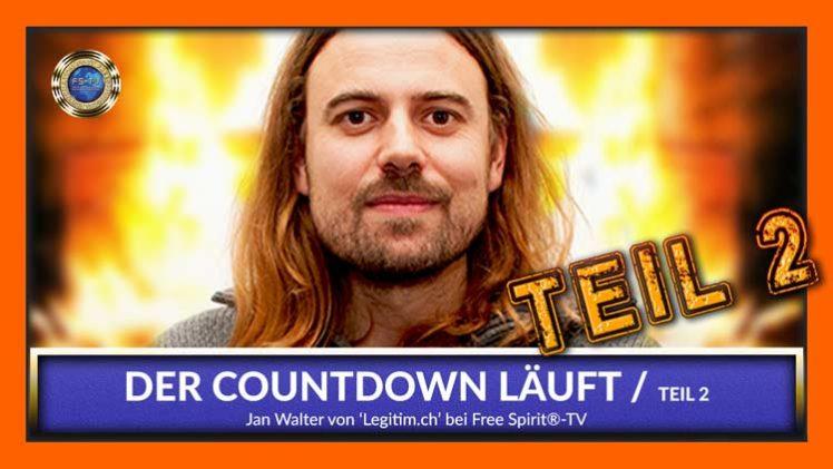 Der Countdown läuft – Teil 2 – Jan Walter