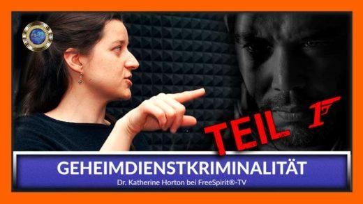 FreeSpirit TV Dr. Katherine Horton Geheimdienstkriminalität