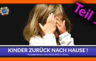 "Kinder zurück nach Hause – PK ""unrechtmäßiger Kindes-Entzug"" – TEIL 1"