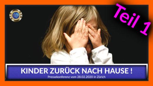 "Kinder zurück nach Hause - PK ""unrechtmäßiger Kindes-Entzug"" - TEIL 1"