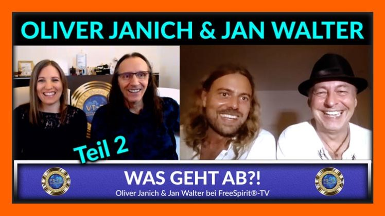 Was geht ab?! – Oliver Janich und Jan Walter – TEIL 2