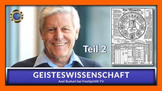 GEISTESWISSENSCHAFT – Axel Burkart – TEIL 1